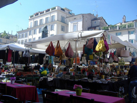 Travel to Italy Tips | Campo de Fiori - Rome | Italia Mia | Scoop.it