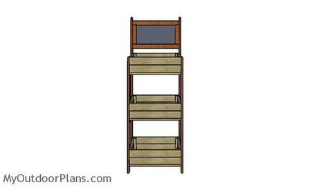 Display Crate Stand Plans | MyOutdoorPlans | Free Woodworking Plans and Projects, DIY Shed, Wooden Playhouse, Pergola, Bbq | Furniture Plans | Scoop.it