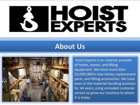 Hoist Experts SC   Jonesx   Scoop.it