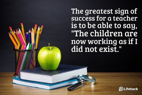 13 Ways to Be an Exceptional Teacher | Education | Scoop.it