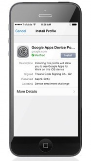 Google Announces an iOS Device Management Tool | Upcoming digital trends | Scoop.it