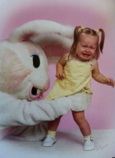 17 Of The Creepiest Easter Bunny Costumes   Strange days indeed...   Scoop.it