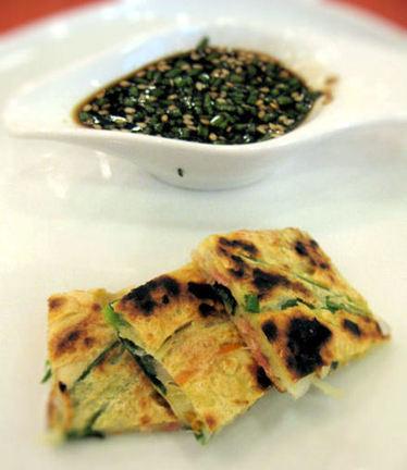 Chijimi, crêpe salée coréenne « Cookismo.fr