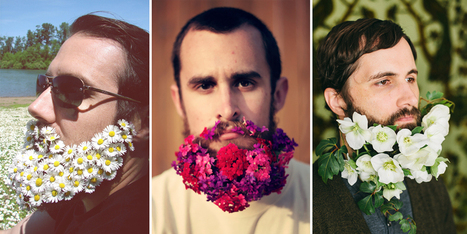 Latest Trend: Men With Flowers In Their Beards | ART  | Conceptual Photography & Fine Art | Scoop.it