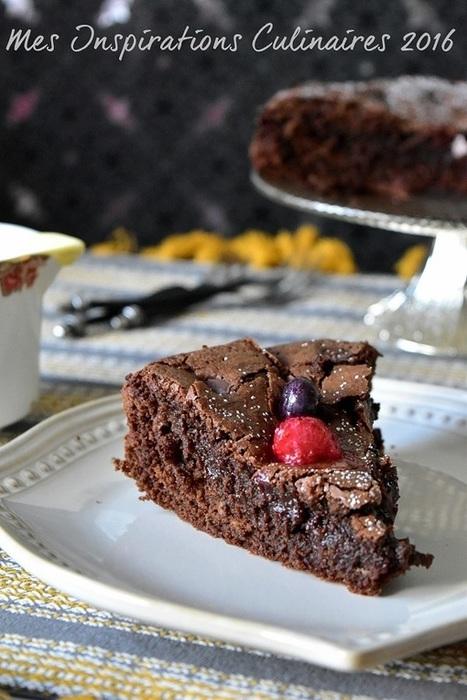 Gâteau au chocolat ultra moelleux | Desserts - Mousses - PannaCotta - glaces | Scoop.it