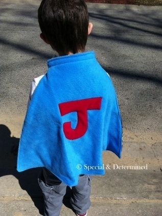 Shout Out To An Amazing Lady and Her TinySuperHero Capes | Special & Determined | A Special Needs Mom Blog | Special Needs Parenting | Scoop.it
