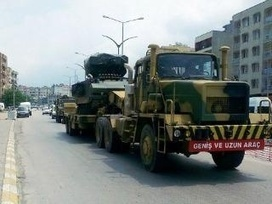 """July2: Turkey has sent missile batteries, tanks and troops to the border with Syria as a """"securitycorridor"""", 