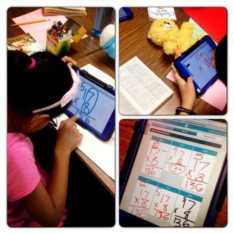 Twitter / MsKatieMorris: LOVE the ipad minis!!! Practicing ...   InfuseLearning   Scoop.it
