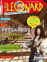 Versailles, le château du Roi-Soleil Les Demoiselles d'Avignon de Picasso | Le Petit Léonard n° 207 | Revue de presse - Nouveautés à retrouver au CDI | Scoop.it