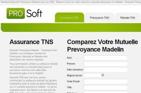 Garanties d'assurance TNS en ligne - Assurance TNS, Mutuelle TNS | assurance-tns.org | Scoop.it