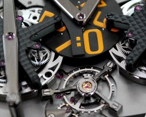 The 4N Digital Carrousel Watch - AHCI   FashionLab   Scoop.it