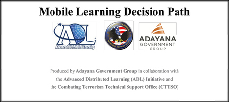 A Mobile Learning Decision Path for Instructional Designers tasked with developing #mLearning [Download]   Aprendiendo a Distancia   Scoop.it