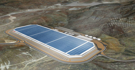This Is the Enormous Gigafactory, Where Tesla Will Build Its Future | Communication design | Scoop.it