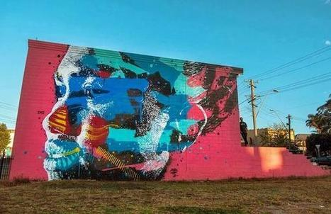 Twitter / RomeoDeVoid: #StreetArt Street art in ...   Street Art   Scoop.it
