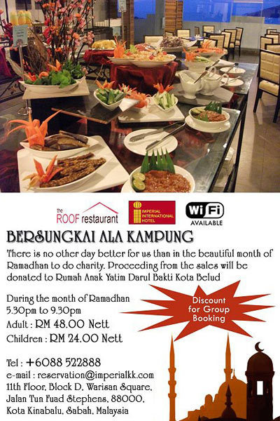 KK FOOD REVIEWS: Sungkai Promo at The Roof Restaurant | Rooftop Permaculture & Biodiversity | Scoop.it