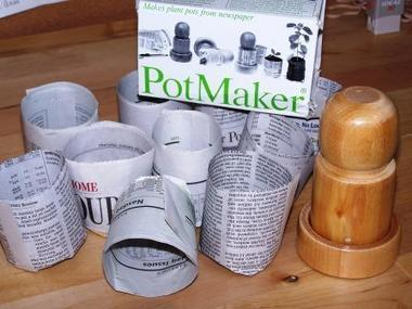 Paper Pot Maker-Store.underwoodgardens.com | Permaculture, Horticulture, Homesteading, Bio-Remediation, & Green Tech | Scoop.it