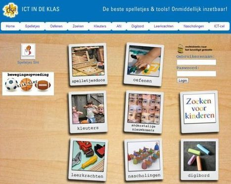Website gespot! ICT in de klas, de beste spelletjes & tools! | Interactief leren | Scoop.it