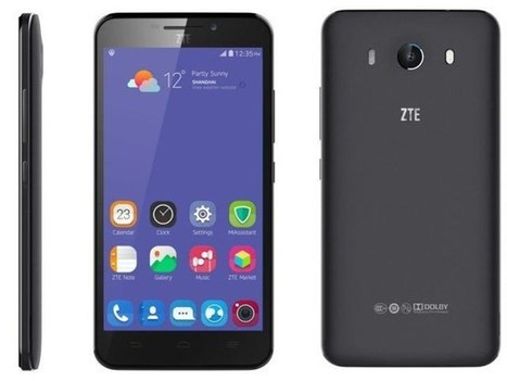 ZTE Grand S3 Full HD Quad-core Android Phone with Eye-Scanner | TechConnectPH News | Scoop.it