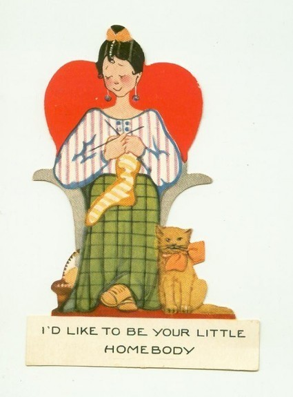Sexism In Collecting Vintage Valentines | You Call It Obsession & Obscure; I Call It Research & Important | Scoop.it