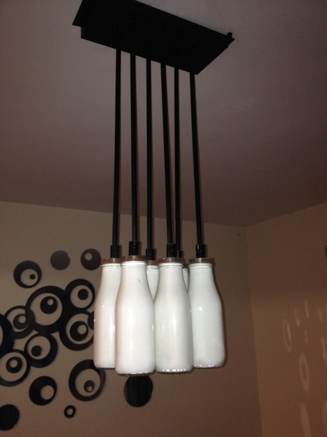 Lamp with Starbucks coffee cans - Recyclart | 1001 Light ideas ! | Scoop.it