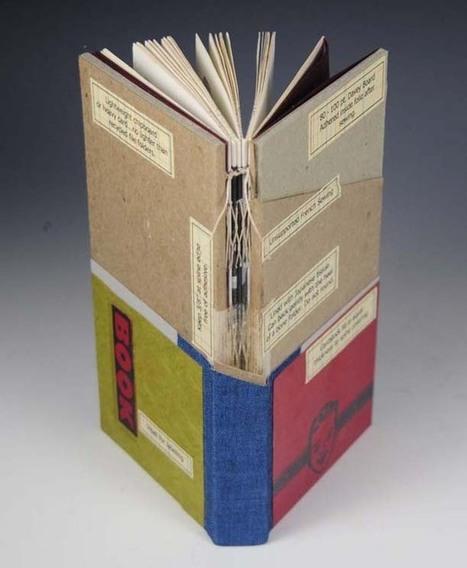 Bookmarking Book Arts - Cutaway Bindings | Books On Books | Scoop.it