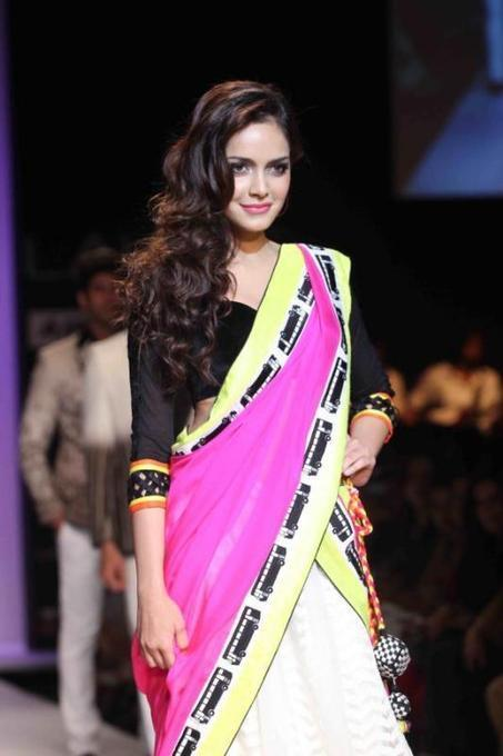 Shazahn And Prabhu Deva At Lakme Fashion Week 2013 | Indian Lifestyle And Fashion | Scoop.it