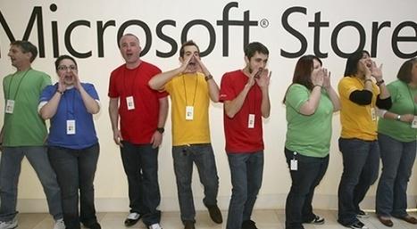 La catastrophe Microsoft expliquée en deux photos   Slate   Vivre sans Mac ?   Scoop.it