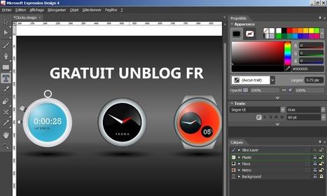 Logiciel Pro gratuit Microsoft Expression Design 4 Fr Licence gratuite – illustration professionnelle Edition graphiques vectoriels   Veille   Scoop.it