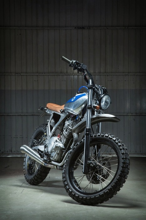1988 Honda NX650 Dominator Street Tracker - Grease n Gasoline | Hot news | Scoop.it