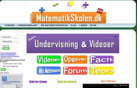 MatematikSkolen.dk | skole it | Scoop.it