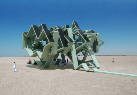 The Solar Energy Field by Michael Jantzen | Art Installations, Sculpture, Contemporary Art | Scoop.it