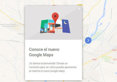 El nuevo Google Maps ya está disponible en España | iPhone, iPad, iOS, Nexus7, Samsung, Android,... | Scoop.it