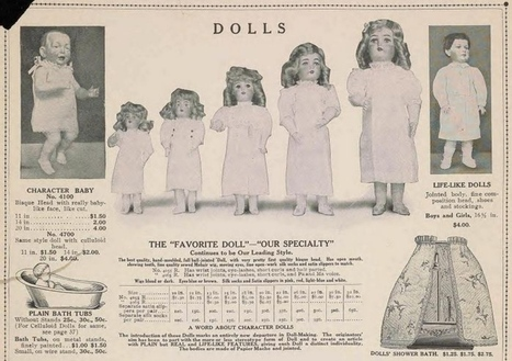 102-year-old toy catalog shows what rich children did for fun | up2-21 | Scoop.it