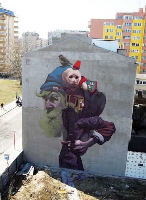 Los murales de ETAM CRU | Diseño creativo | Scoop.it
