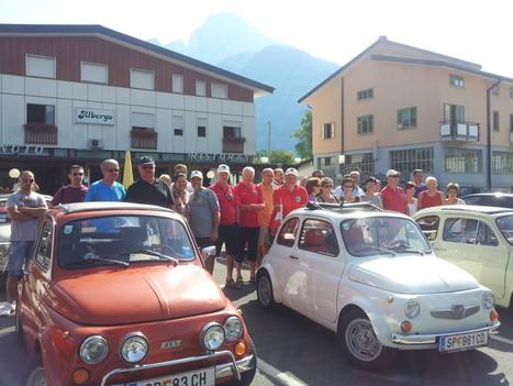RESOCONTO DELLA PRETAPPA TOLMEZZO-SAURIS-TOLMEZZO DEL 3 AGOSTO 2013 « Fiat 500 alla conquista del Friuli – Il blog | Fiat 500 | Scoop.it