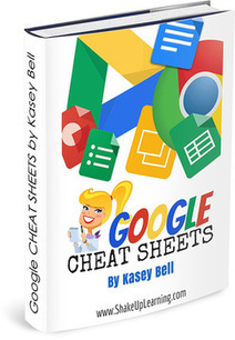 FREE Google Cheat Sheets eBook for Teachers and Students! (8 Cheat Sheets in one eBook) | 21st Century Concepts-Technology in the Classroom | Scoop.it