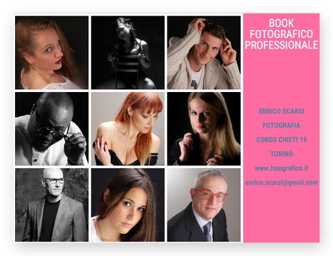 BOOK FOTOGRAFICO PROFESSIONALE A TORINO | Book Fotografico Professionale Torino | Scoop.it