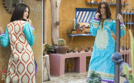 Al Zohaib Embroidered Kurti Fashionable Collection 2015 For Female | Fashion Trends | Your choice for dress | Scoop.it