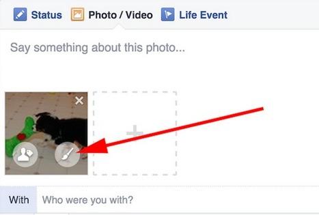 Facebook's Website Now Has Photo Filters And Sticker | Free Tutorials in EN, FR, DE | Scoop.it
