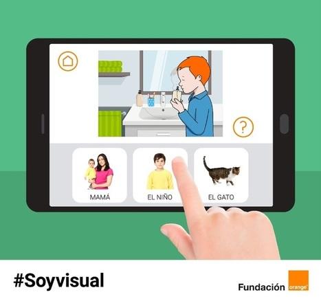 Fundación Orange lanza #Soyvisual, un sistema de comunicación aumentativa para personas con dificultades de comunicación y lenguaje - Autismo Diario | oriéntate | Scoop.it