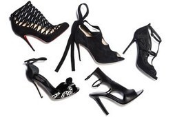 Women's Trend: Strappy Black Stilettos | All about Shoes | Scoop.it