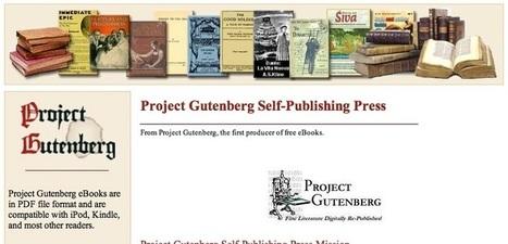 El Proyecto Gutenberg consigue digitalizar 50.000 obras | Educacion, ecologia y TIC | Scoop.it
