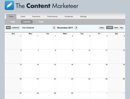 Editorial Calendars: Where All Content Marketers Should Start | Web Analytics and Web Copy | Scoop.it
