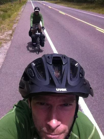 Jakari Griffith and Kevan Malone at 2012 Bike Tour from New York to Florida | Cycling Trip | Scoop.it