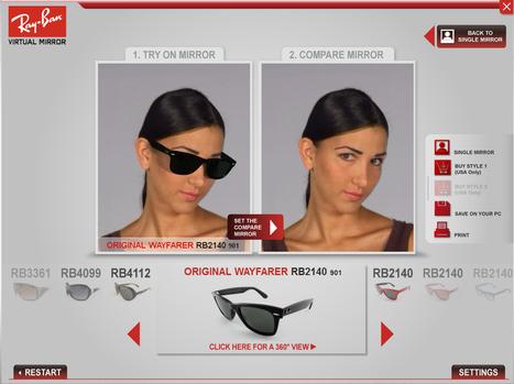 Marketing et réalité augmentée : Une nouvelle façon d'essayer ses lunettes - Web and Luxe - Blog Luxe Marketing | Les tendances du marketing de la mode | Scoop.it