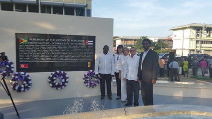 Cuban Ambassador, GCSM observe Cubana Air Disaster | critical reasoning | Scoop.it