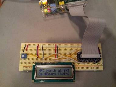 Raspberry Pi: Display tweets on a character LCD - element14 | Raspberry Pi | Scoop.it