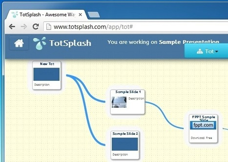 Create Zooming Presentations And Mind Maps With TotSplash | Wepyirang | Scoop.it