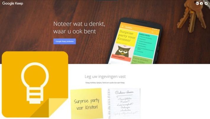 Edu-Curator: Wil je niets vergeten, waar je ook bent..? Gebruik dan 'Google Keep'! | Edu-Curator | Scoop.it