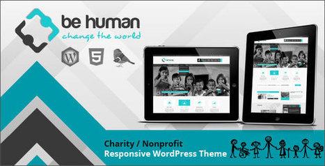 Be Human v.2.0 – Themeforest Charity Multipurpose WP Retina Theme   WORDPRESS themes and plugins   Scoop.it